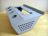 ボンデ1.6mmのレーザー切断&12工程曲げ